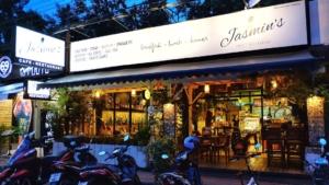 パタヤの朝食におすすめな、お洒落カフェ、『ジャスミンズカフェ』